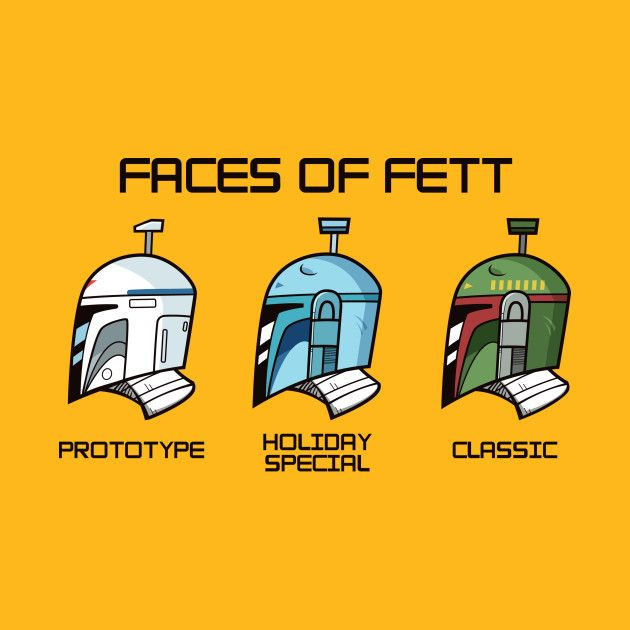 Check out this awesome faces of fett design on teepublic