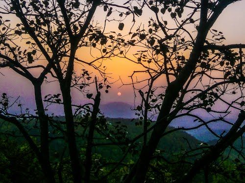 sunset point netarhat , Latehar @NarendraModi