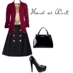 Winter/Autumn office outfit: Offices Outfits, Office Outfits