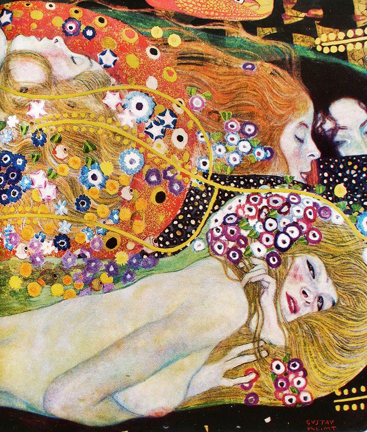 daldandala; Gustav Klimt Su Yılanları II (detay) Water Serpents II (detail)