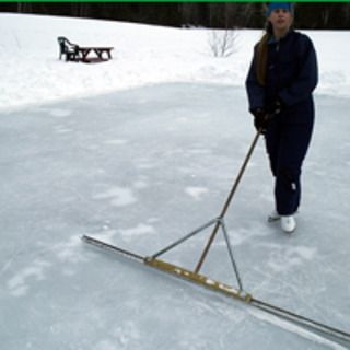 Make a cheap backyard ice-skating rink