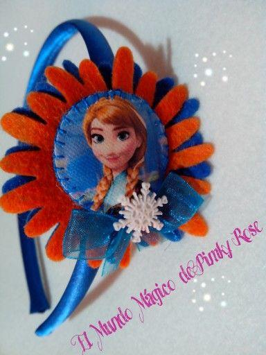 Diadema Ana de Frozen