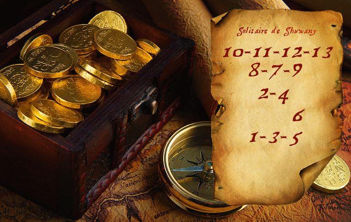 Денежный годовой расклад «Карта сокровищ» | Магия Шувани