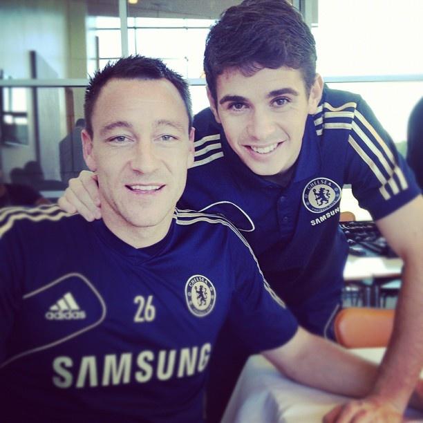John Terry & Oscar Dos Santos