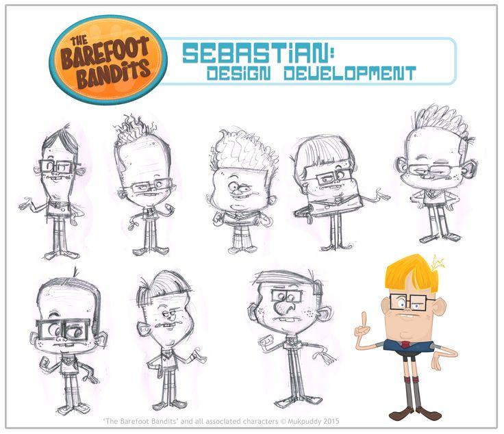 Animationcartoonillustrationcharacter Designartdesigndrawingsketchmukpuddymukpuddy Animationthe Barefoot Banditstvnznz On