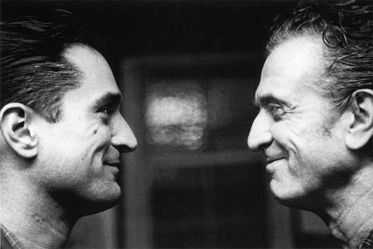 Robert de Niro and his father Bob de Niro