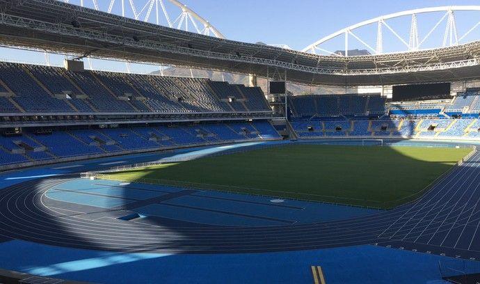 Estádio Olímpico Nilton Santos - Engenhão (Foto: GloboEsporte.com)