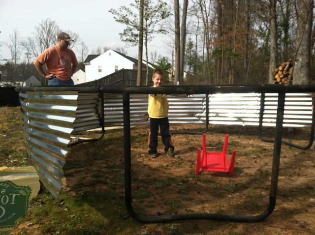 17 best images about in ground trampoline on pinterest for How to put a trampoline in the ground