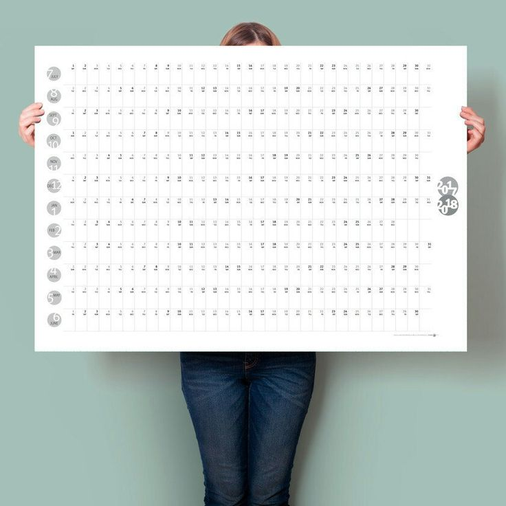 Mid year ▪ printed ▪ wall planner available for a limited time.