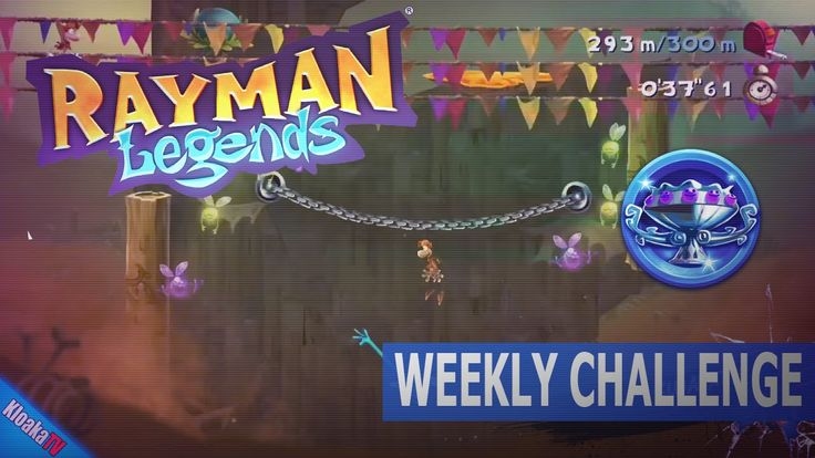 "Rayman Legends - Weekly Challenge in 38""56 seconds (Diamond Cup)"