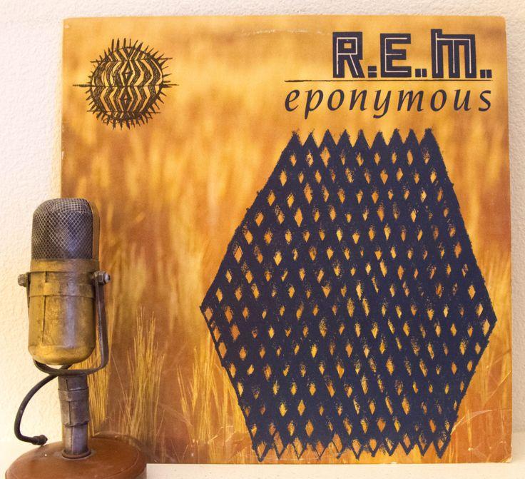 "Rem Vintage Vinyl Record Album 1980s Alternative Rock  Michael Stipe Athens GA ""Eponymous(Greatest Hits)""(1988 IRS w/""Radio Free Europe"")"