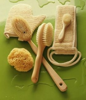 Peonies & Polish: Dry Skin Brushing for health and detox