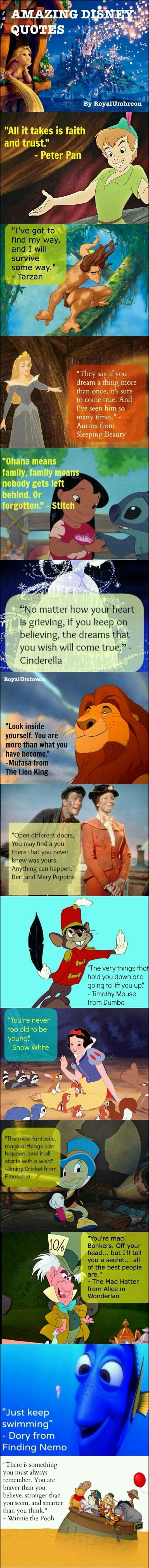Disney inspirational quotes! I love this but they have the wrong Mad Hatter pictured next to the quote from the live action movie and it is pissing me offf!!!