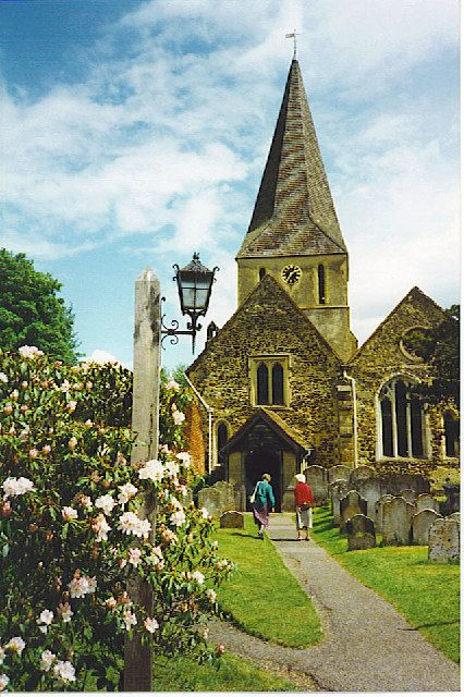 Go to Shere, Surrey in England where The Holiday was filmed <3