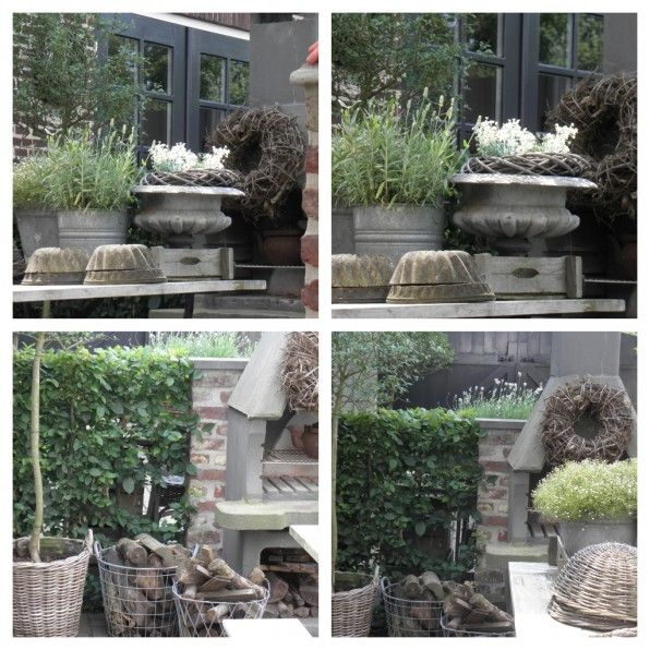 baskets, urns and oh so French inspiration for the garden