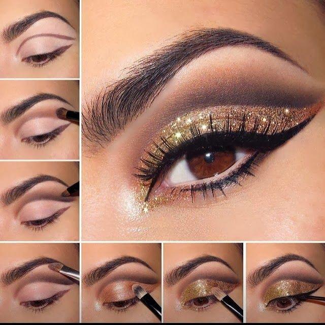 #makeup #beautytips #gold - www.beautylicieuse.com