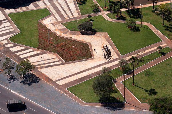 Roberto Burle Marx - Civic Square, Brazil