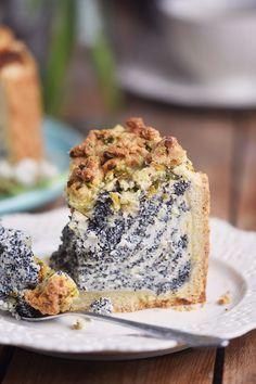 Poppy Seed Crumble Cheesecake - Mohn Streuselkuchen mit Quark (2)