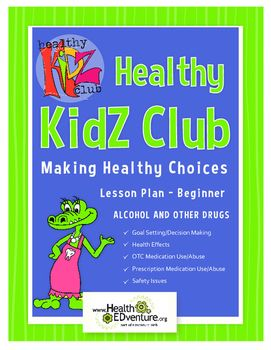 """This Health EDventure lesson provides students with a basic overview of medicine safety.Content area: Alcohol and Other Drugs - Goal Setting/Decision Making, Health Effects, OTC Medication Use/Abuse, Prescription Medication Use/Abuse, Safety IssuesThis lesson utilizes an independent resource, an online book: """"Medicine is Not Candy,"""" by Heather V."""