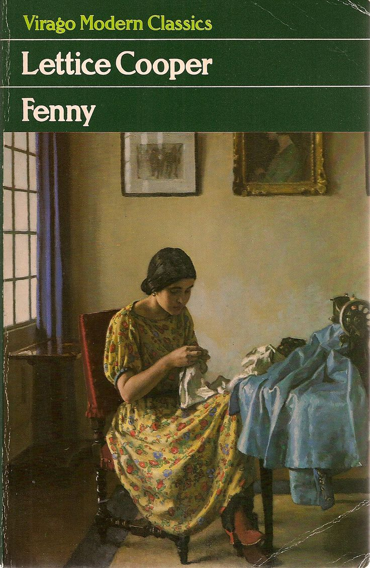Fenny by Lettice Cooper cover, 'Sewing' by Harold Knight No. 264