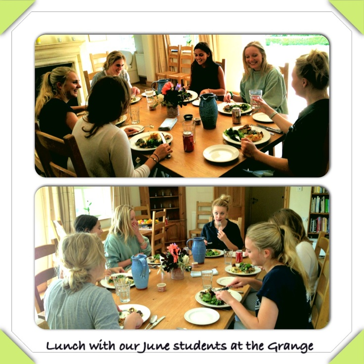 Lunch by our June'13 students