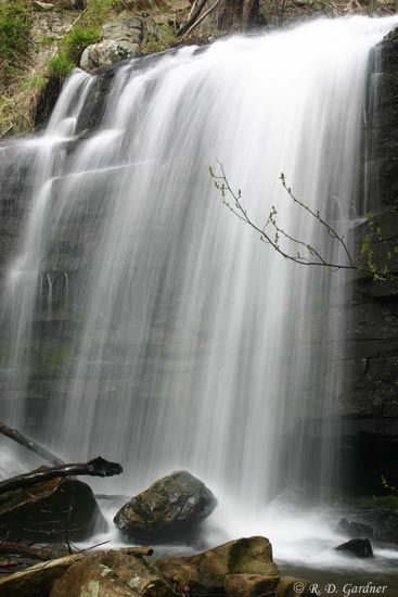 Waterfall in Bays Mountain Park  Kingsport, TN