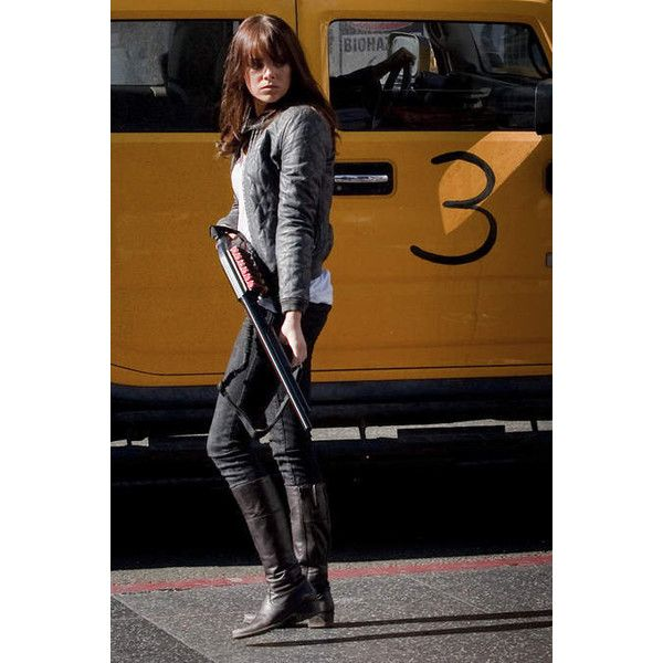 Zombieland ❤ liked on Polyvore featuring emma stone