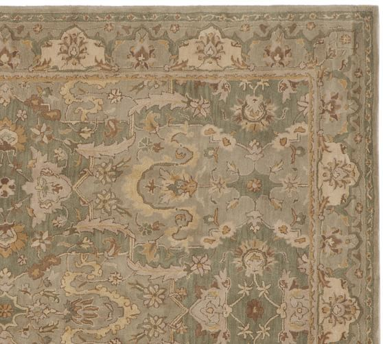 Thyme persian style rug pottery barn aa home for Home decorators sumba rug