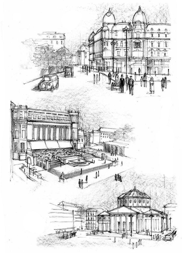 Bucharest Interwar Period on Behance