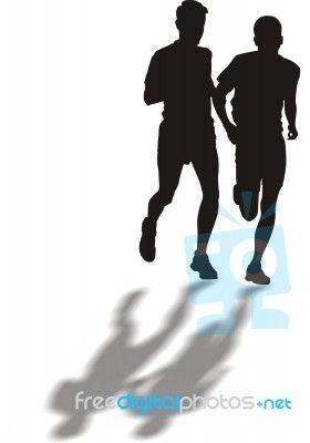 """Runners"" by Vlado at FreeDigitalPhotos.net"