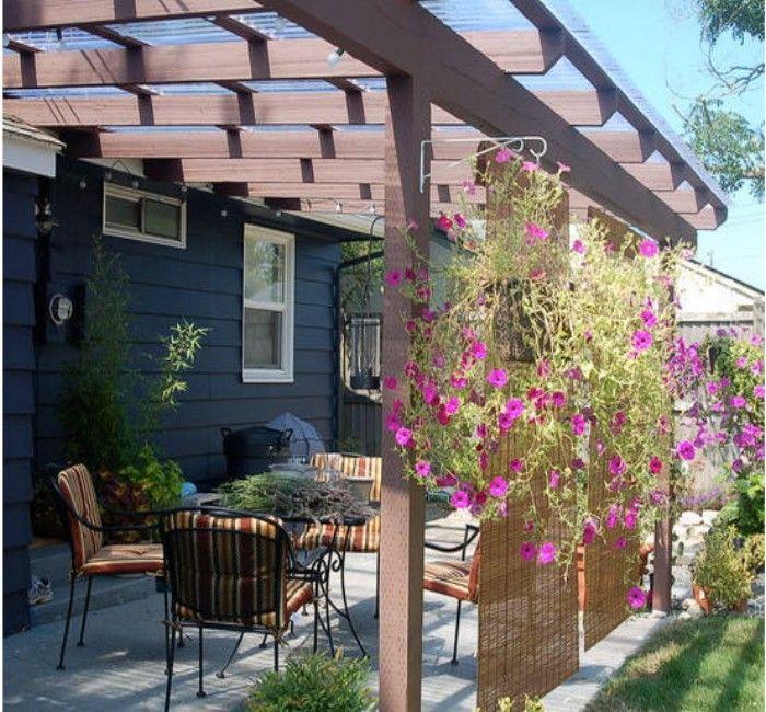 175 best pergola / gazebos roofs / covers images on pinterest ... - Pergola Patio Cover Ideas