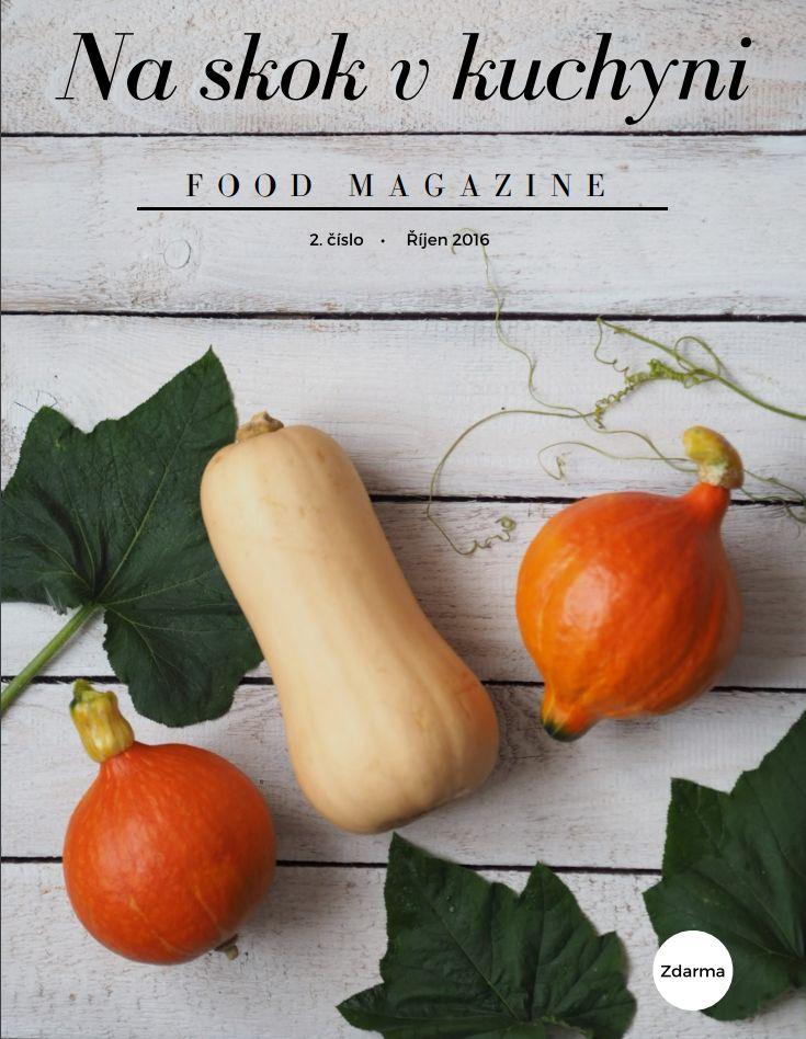 Druhé číslo food magazínu je na světě a já mám z něho obrovskou radost. Povedlo se mi ho o několik stránek rozšířit a tím vám i sdělit více informací. Dozvíte se, co jsem dělala celý…