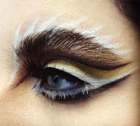 43 best Halloween Eye makeup images on Pinterest | Halloween eye ...