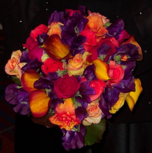 Jewel Tone Wedding Flowers: 68 Best Jewel Tone Weddings Images On Pinterest
