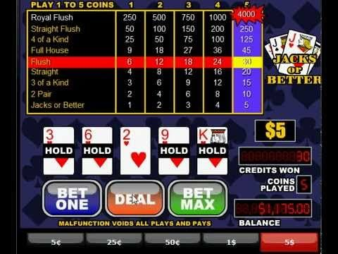 Best video poker games play casino lucky slots - free slot machines online