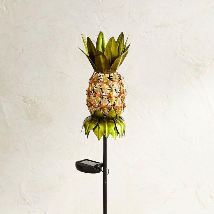 Pineapple LED Solar Garden Stake