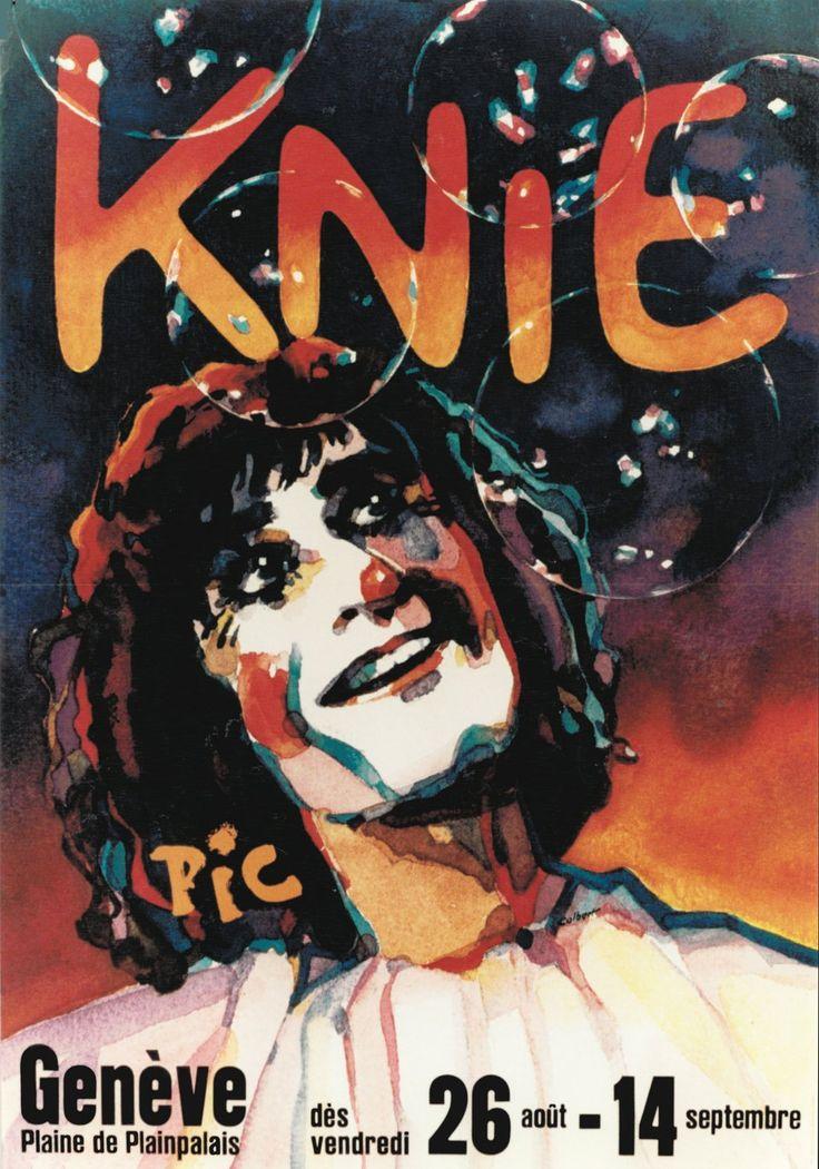 Knie, Cirque Knie, Clown Pic. RENTSCH (1983)
