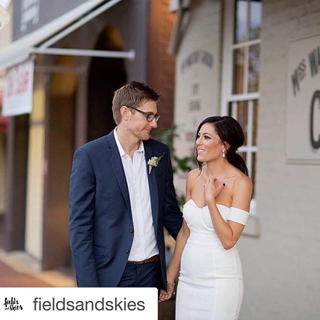 Did you know Miss Watsons Garden is available for weddings, parties... Or your next function.  We were pleased to host the wedding of this gorgeous couple recently.  Img by the talented Fields and Skies