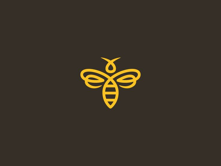 Bee Icon #logo #logo design