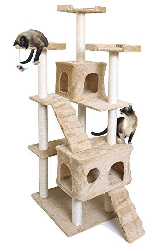 House Cat Tree Kitten Tower Condo Furniture 72 >>> Read more  at the image link.