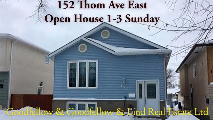 152 Thom Ave East listed with Goodfellow & Goodfellow & Lind Real Estate Ltd.