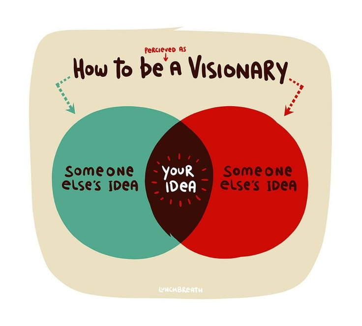 How to be perceived as a visionary