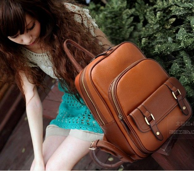 28.77$  Buy here - http://ali04d.shopchina.info/go.php?t=1558029872 - Freeshipping Fashion preppy style vintage fashion backpack  student bag 2016 women's causual backpack school bag H033  #buychinaproducts