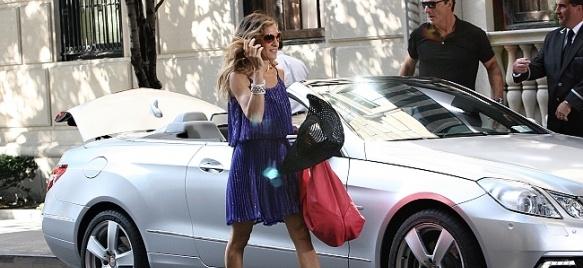 """Актрисата от """"Сексът и градът"""" Сара Джесика Паркър, чиято героиня Кари Брадшоу е известна с любовта си към обувките Маноло Бланик, се съюзи с главния изпълнителен директор на модната марка, за да стартира собствена линия."""