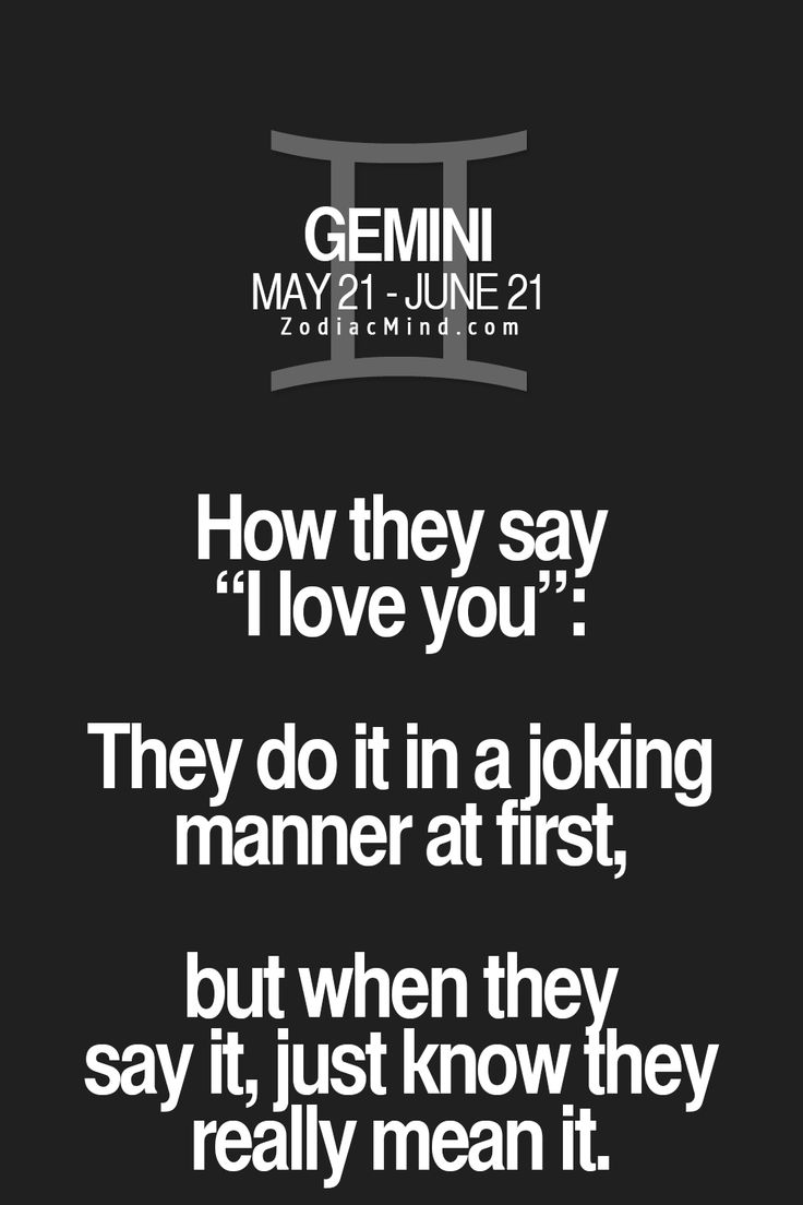 how to know a gemini man loves you