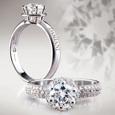 Damiani  Jewerly  Pinterest  Engagement rings, Diamonds and Diamond ...