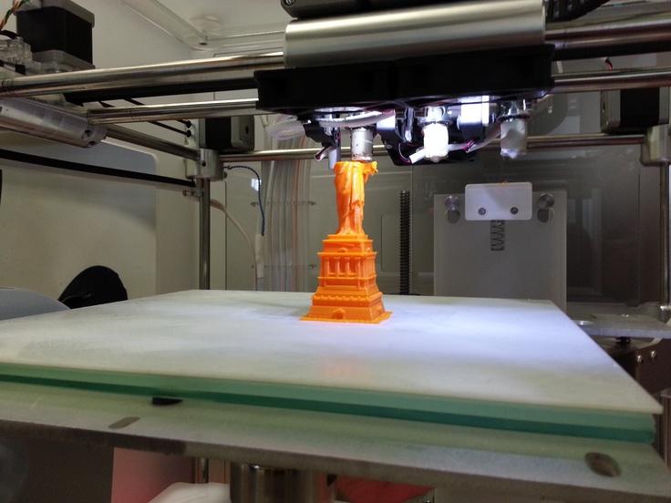 3D Printed Statue of Liberty (In progress).