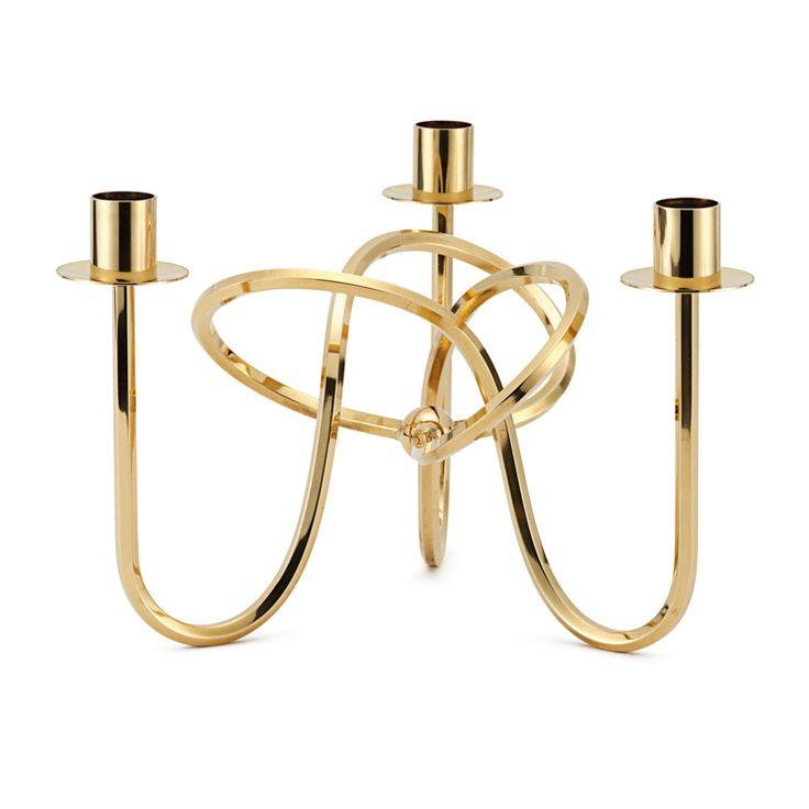 I löööw!  Svenskt Tenn, designed by Josef Frank: Ljusstake Vänskapsknuten / Candle Holder The Knot of Friendship