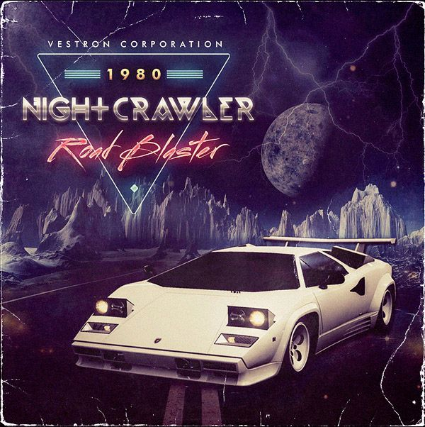 """I'm beginning to love this kind of 80s retro stuff."" Nightcrawler by Vestron Corporation"
