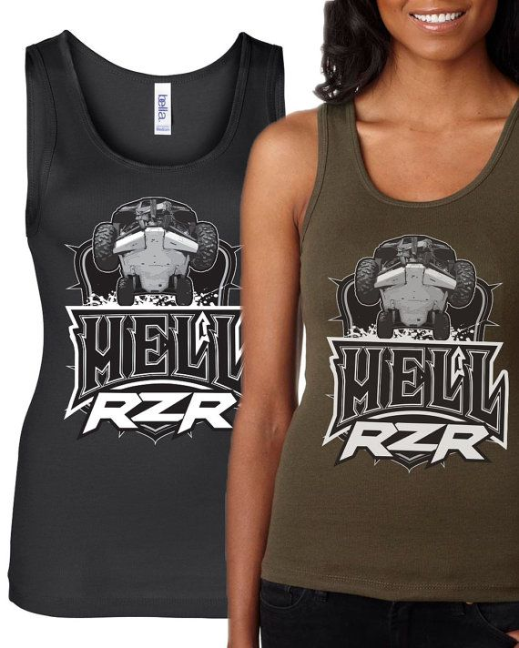 Rzr Tribute Shirt Hell Rzr Tank Cas Shirts And Etsy